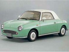 Nissan Figaro. One of the most smile-inducing cars around.