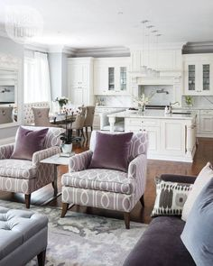 Love the colors and open concept design
