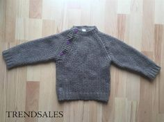 Katvig - Strik trøje bluse uldtrøje