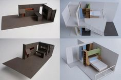 Apartment design model by SWAD