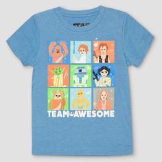 T-Shirt Star Wars Light Sky Blue 12 M, Toddler Boy's