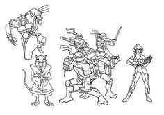 28 best mutant ninja turtles images