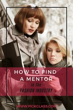 Finding a mentor that will help guide you will significantly fast track your career in the fashion industry. Learn how to find and ask for a mentor. Become A Fashion Designer, Looking For Someone, Fashion Labels, Business Fashion, Fashion Stylist, Industrial Style, Latest Fashion, Stylists, How Are You Feeling