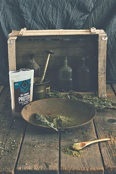 Organic hemp protein for your morning smoothies