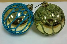 Ravelry: Open Trebles Ornament Cover pattern by Amelia Beebe