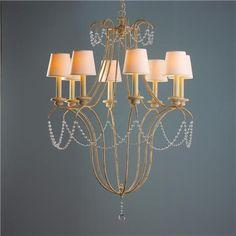 Crystal Necklace Chandelier
