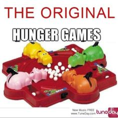 The original hunger games....