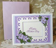 Beautiful Handmade Mother's Day Card by nuts4mccoy on Etsy, $3.95