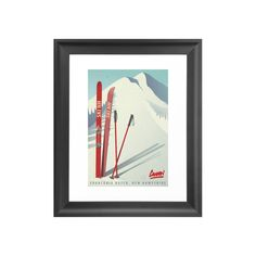Celebrate one of America's top ski spots with this Cannon Mountain Art Print. A retro-style rendering of the New Hampshire slopes, this decorative print will make a perfect addition to any avid skier's...  Find the Cannon Mountain Art Print, as seen in the Mid-Century Modern Ski Trip Collection at http://dotandbo.com/collections/mid-century-modern-ski-trip?utm_source=pinterest&utm_medium=organic&db_sku=115810