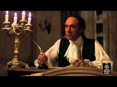 """Amadeus: genial escena en la que Salieri ayuda a escribir una parte del Requiem (""""Confutatis"""") y se van escuchando las voces y los instrumentos, tal y como debería haberlo imaginado el compositor."""