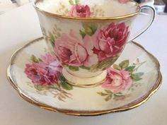 American Beauty Roses Royal Albert English Fine Bone China