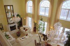 An elegant livingroom...inside this dream ranch cabin