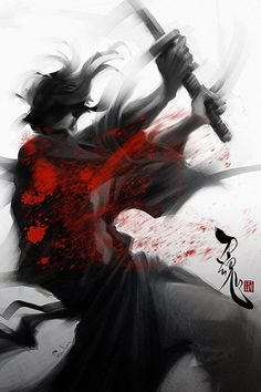 #Samurai  art and pretty rad at that~!