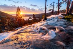 Eagle Falls Greets the Morning Featured in Forest Living California
