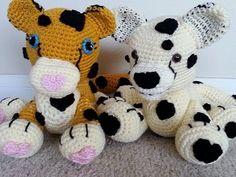 Crochet Cute Cheetah DIY Tutorial Part 2 of 2.