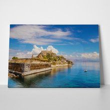 Corfu Corfu, Wall Stickers, Wall Murals, Canvas Prints, Painting, Home Decor, Art, Wall Clings, Wallpaper Murals