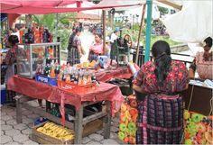 Market in Guatemala