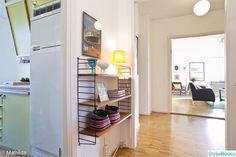 String, även i hall. Teak, Tall Cabinet Storage, 50th, Pergola, Retro, Closet, Furniture, Home Decor, Display