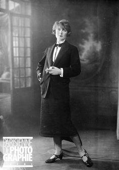 Garçonne - Paris, 1925 - Photo de Maurice-Louis Branger