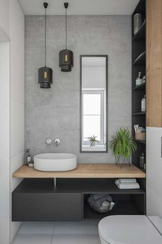 Gorgeous 60 Modern Farmhouse Small Bathroom Remodel Decor Ideas High-design fads not just look stunning however include worth to your bathroom remodel. Right here are our preferred bathroom renovation ideas to include currently. Bad Inspiration, Bathroom Inspiration, Interior Design Inspiration, Bathroom Ideas, Design Ideas, Bathroom Remodeling, Remodel Bathroom, Budget Bathroom, Small Bathroom Renovations