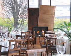 RESTAURANTE LA CIAU DEL TORNAVENTO #viagem #restaurante #decoracao #decor