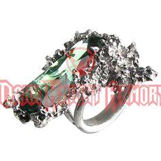 Winter Garden Crystal Ring - AG-R137 from Dark Knight Armoury