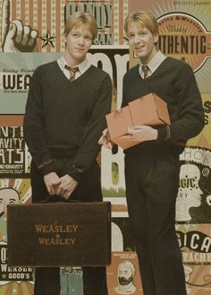 Weasley and Weasley. May be the funniest characters in literature!