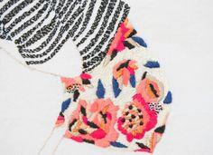 Magie met naald en draad: borduren anno 2015 - Jazmin Berakha #borduren #embroidery #multimedia