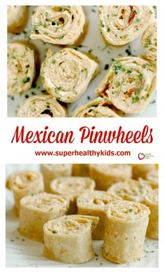 "Healthy Recipes : Illustration Description Mexican Pinwheels : Perfect for Quick Lunches, Fun Appetizers, and easy Lunchbox Additions! ""Sweat is fat crying"" ! Pinwheel Appetizers, Fun Appetizers, Appetizer Recipes, Appetizer Ideas, Mexican Appetizers Easy, Delicious Appetizers, Yummy Food, Holiday Appetizers, Snacks"