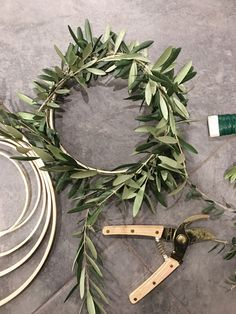 Homemade wreaths in the family room Farmhouse Christmas Ornaments, Christmas Wreaths, Christmas Decorations, Jones Design Company, Living Room Setup, Homemade Wreaths, Craft Party, Diy Wreath, Dried Flowers