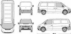 Mercedes vito vector free #5