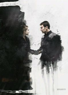 After the earth-shattering revelations of INSURGENT, in ALLEGIANT Tris [Shailene Woodley] must escape with Four [Theo James] beyond the wall that encircles Chicago to finally discover the shocking truth of what lies behind it. Divergent Hunger Games, Divergent Fandom, Divergent Trilogy, Divergent Insurgent Allegiant, Divergent Quotes, Divergent Drawings, Divergent Facts, Insurgent Quotes, Theo James