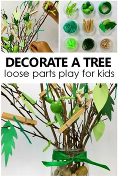 Decorate a Tree Loose Parts Play - Fantastic Fun & Learning