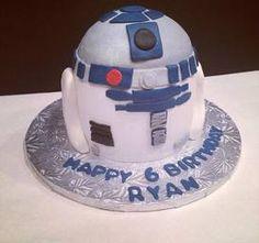 R2D2 Cake By Cakes Anna In Alpharetta Ga R2d2 Fondant