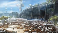 ArtStation - Destiny: Wall, Jesse van Dijk