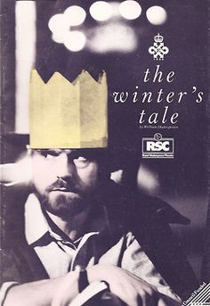 Program from The Winter's Tale, featuring Jeremy Irons, Royal Shakespeare Company (1987)
