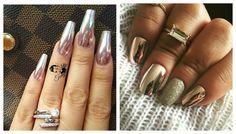 Oglinda de unghii cu gel manichiura: 5 moduri, 50 de desene sau modele | beautysummary