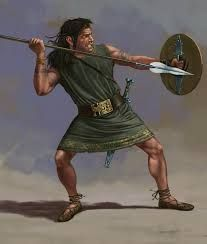 IBERIA - An Iberian Caetratus, with very light equipment. He has no armor, but he carries the normal shield and set of weapons. Ancient Rome, Ancient Greece, Ancient Art, Ancient History, Ancient Persia, Historical Art, Historical Pictures, Iron Age, Punic Wars