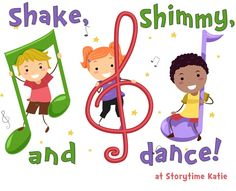 shakeshimmyanddance Start with Chicka Chicka and move to other books to get moving.