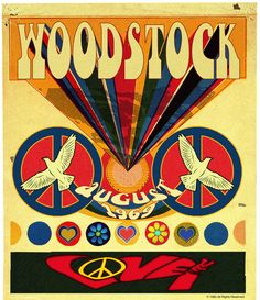 Woodstock Love 32x36 Glass Panel.  Image Starts Here...