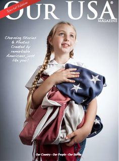 Our USA is a magazine that is created by remarkable Americans just like you! We celebrate Our USA and feature stories and photos of all things American. We highlight small Made in USA 'mom & pop businesses and Etsy artisans. Yankee Doodle Dandy, Music Magazines, American Made, American Flag, American Soldiers, God Bless America, Made In America, We The People