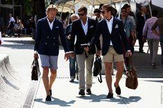 Blue Blazers, White Shirts #mensfashion #menswear #fashion #style #summer