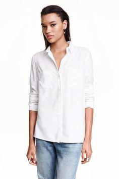 Camisa em viscose   H&M