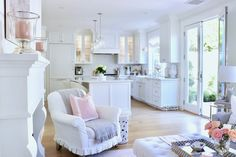 Loveliest Looks of Summer Home Tour - Fashion, Decor, and Food! Decorating Blogs, Interior Decorating, Home Decor Inspiration, Kitchen Inspiration, Kitchen Ideas, Decor Ideas, French Country House, Updated Kitchen, Dream Rooms