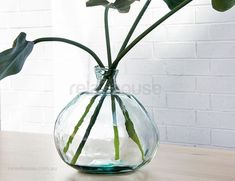 Beaumont Vase Recycled Glass Tall Flowers, Artificial Plants, Recycled Glass, Glass Vase, Recycling, Room, Home Decor, Bedroom, Fake Plants