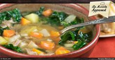 This Super Energy Kale Soup is tasty and healthy, and an ideal way to enjoy kale in the winter.