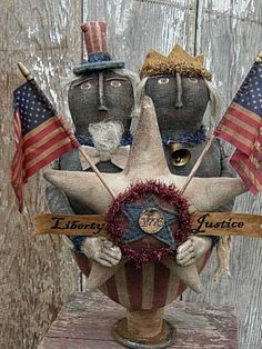 ooak uncle sam doll - Google Search