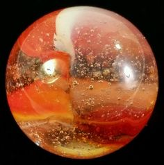 "Vintage Peltier ""Rainbo Sunset"" Marble  #Peltier #Rainbo"