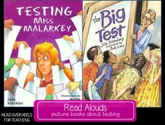Great read alouds to share with your students before testing.