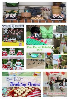 15+ Boy Birthday Parties - awesome ideas!!!